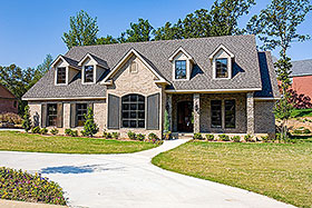 House Plan 62324 Elevation