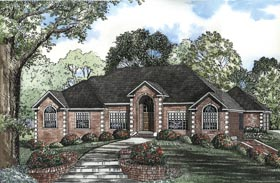 House Plan 62325 Elevation