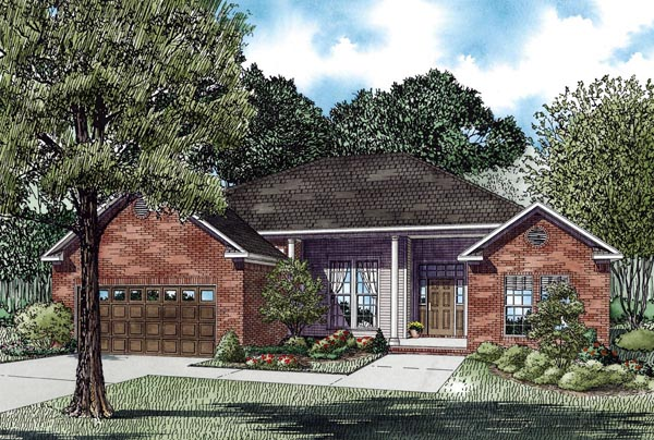 House Plan 62329 Elevation