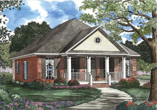 House Plan 62330 Elevation