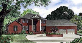Traditional House Plan 62335 Elevation