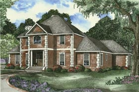 Traditional House Plan 62337 Elevation