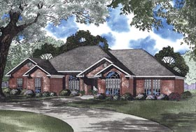 House Plan 62346 Elevation