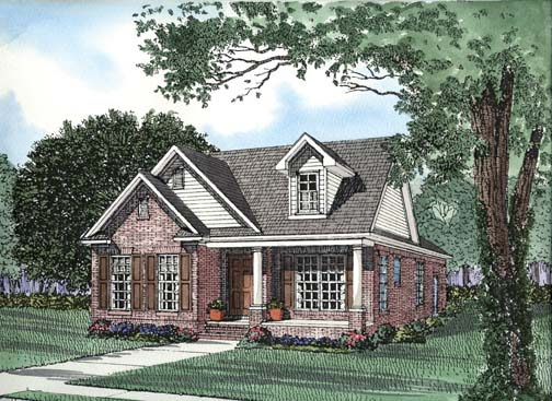 House Plan 62359 Elevation