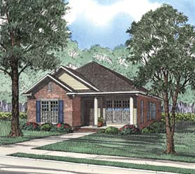 House Plan 62365 Elevation