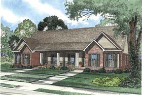 Multi-Family Plan 62374 with 6 Beds, 4 Baths, 2 Car Garage Elevation