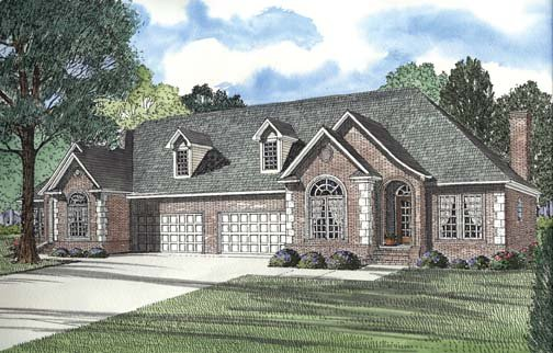 Multi-Family Plan 62380 Elevation