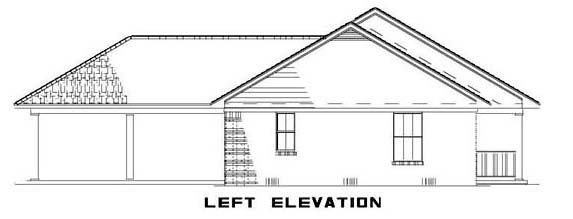 Country, Ranch House Plan 62386 with 3 Beds, 2 Baths Picture 1