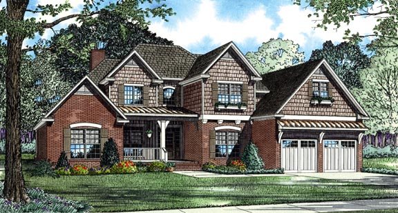 House Plan 62394 Elevation