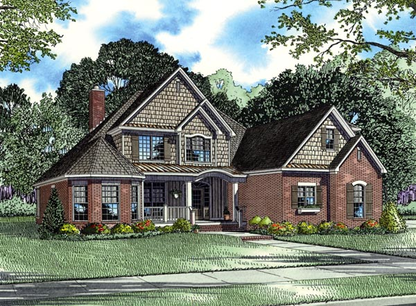 House Plan 62396 Elevation