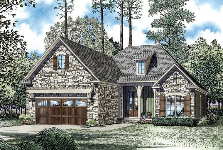 House Plan 62398 Elevation