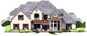Plan Number 62412 - 4158 Square Feet