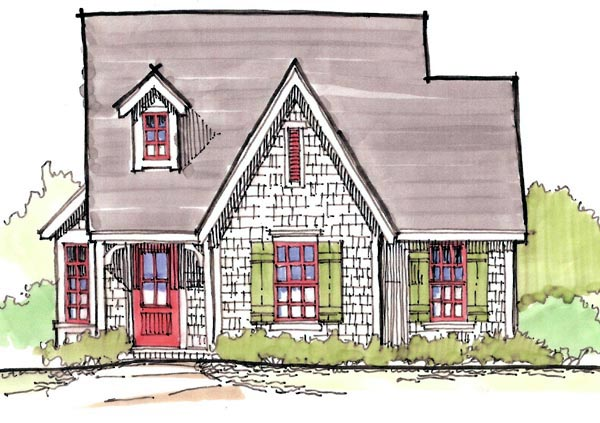 House plan 62414 at for Cape cod house numbers
