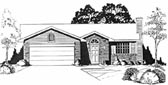 Plan Number 62506 - 1024 Square Feet