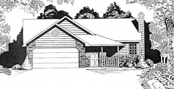 House Plan 62507