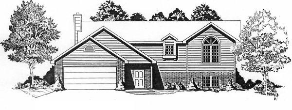 Traditional House Plan 62512 Elevation