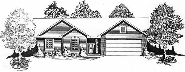 Traditional House Plan 62520 Elevation