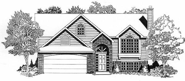 Traditional House Plan 62522 Elevation