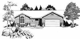 House Plan 62528