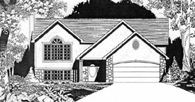 Traditional House Plan 62530 Elevation