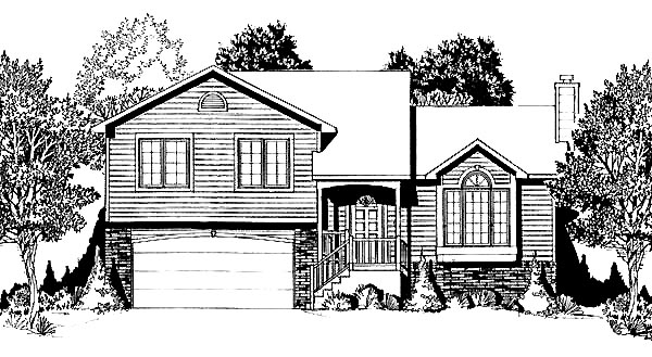 Traditional House Plan 62535 Elevation