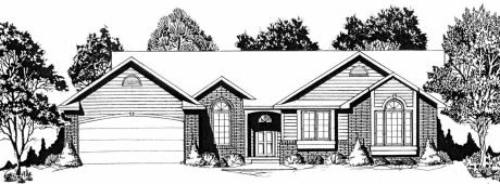 Traditional House Plan 62542 Elevation