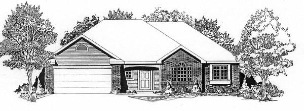 Traditional House Plan 62561 Elevation