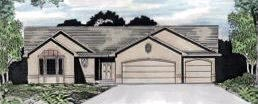 Traditional House Plan 62566 Elevation