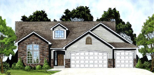 Tudor House Plan 62571 Elevation