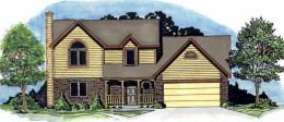 Traditional House Plan 62576 Elevation