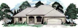 Traditional House Plan 62590 Elevation