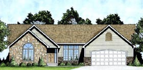 Traditional House Plan 62594 Elevation