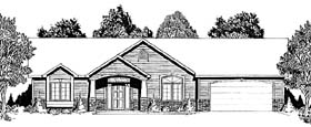 Traditional House Plan 62602 Elevation