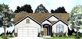 Plan Number 62605 - 1091 Square Feet