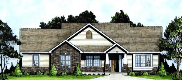 Traditional House Plan 62606 Elevation