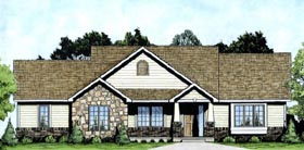 Traditional House Plan 62612 Elevation