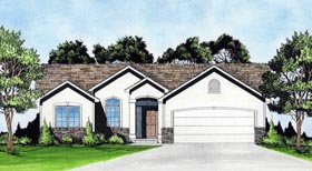 Traditional House Plan 62630 Elevation