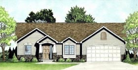 Traditional House Plan 62633 Elevation