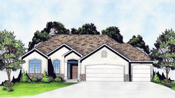 Traditional House Plan 62635 Elevation