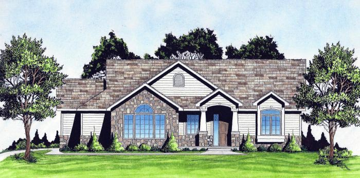 Traditional House Plan 62636 Elevation