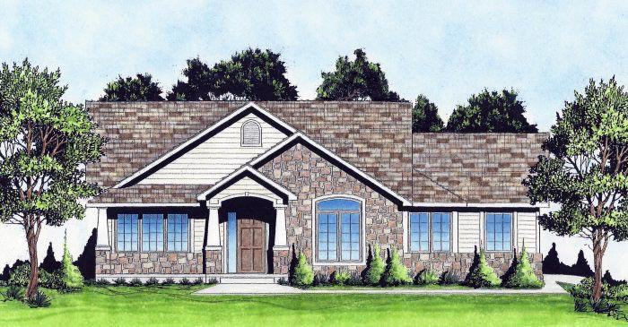 Traditional House Plan 62637 Elevation