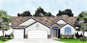 Traditional House Plan 62638 Elevation