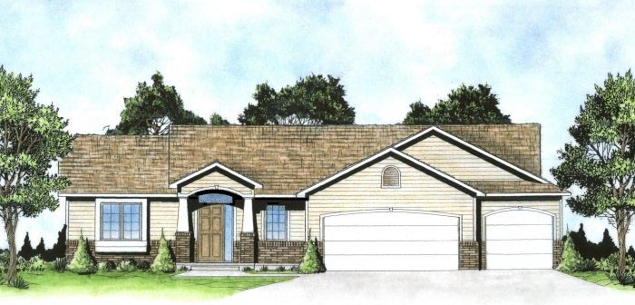 Traditional House Plan 62640 Elevation
