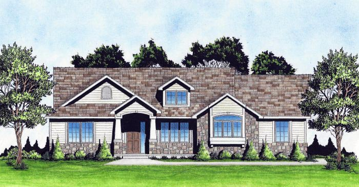 Traditional House Plan 62641 Elevation