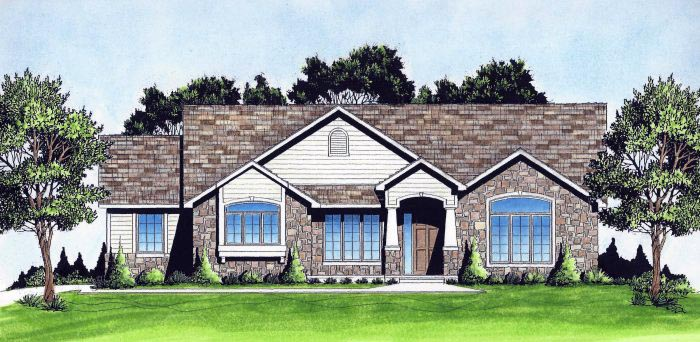 Traditional House Plan 62647 Elevation