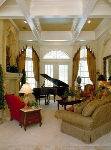 Florida, Mediterranean House Plan 63021 with 5 Beds, 4 Baths, 3 Car Garage Picture 9