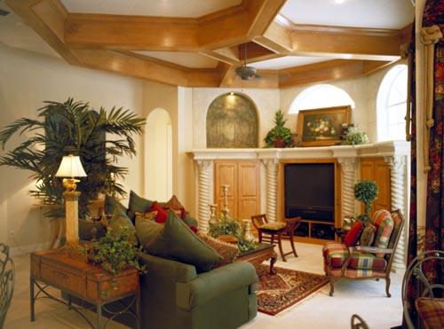 Florida, Mediterranean House Plan 63021 with 5 Beds, 4 Baths, 3 Car Garage Picture 1