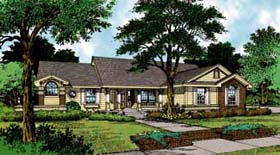 Country Traditional House Plan 63048 Elevation