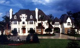Victorian House Plan 63082 with 5 Beds, 8 Baths, 3 Car Garage Elevation
