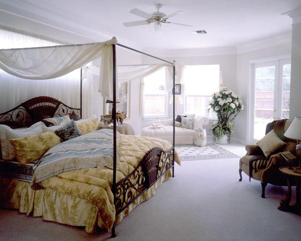 Mediterranean House Plan 63131 with 3 Beds, 2 Baths, 3 Car Garage Picture 3
